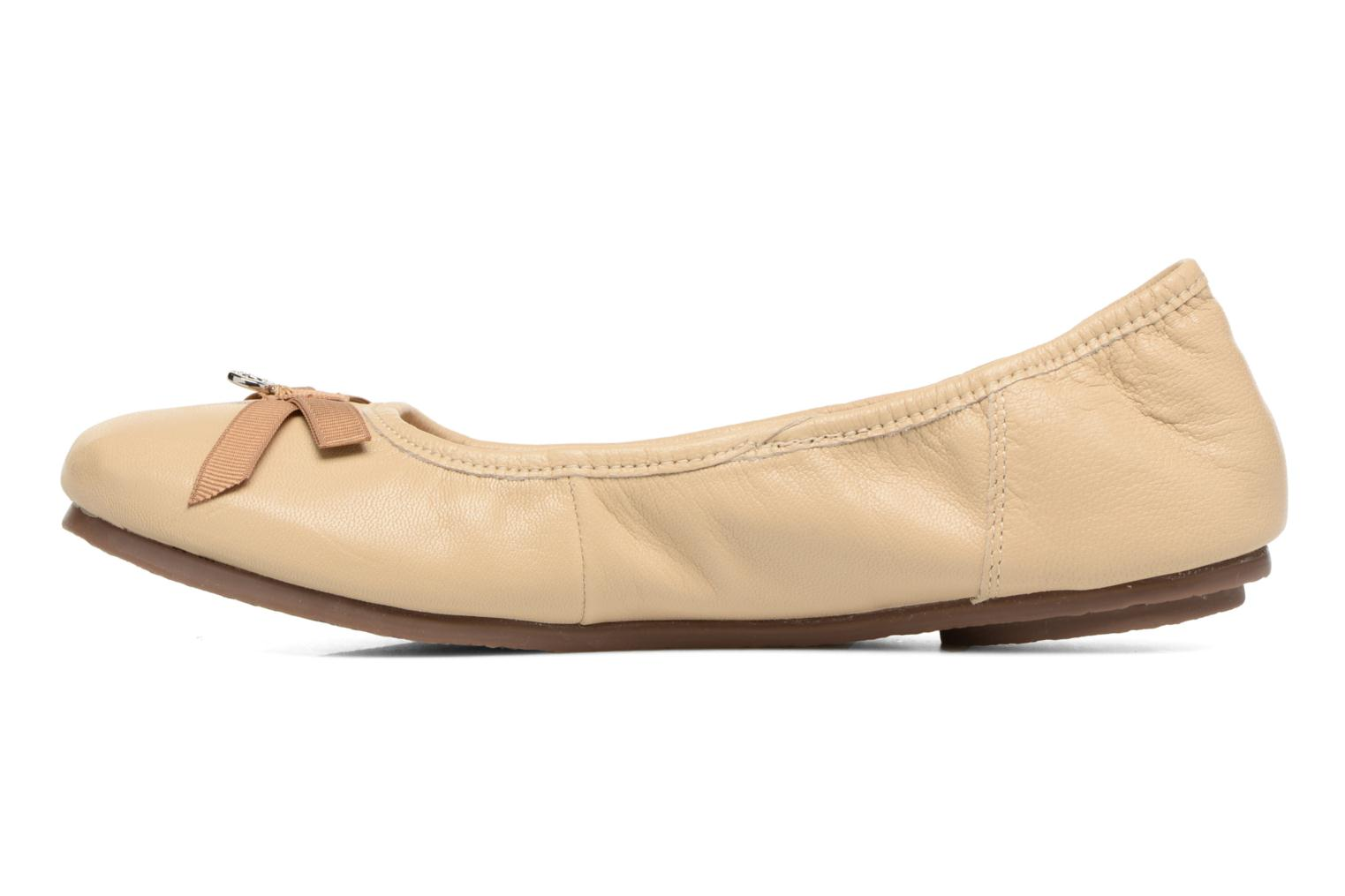 Ballerines Hush Puppies Lilas Beige vue face