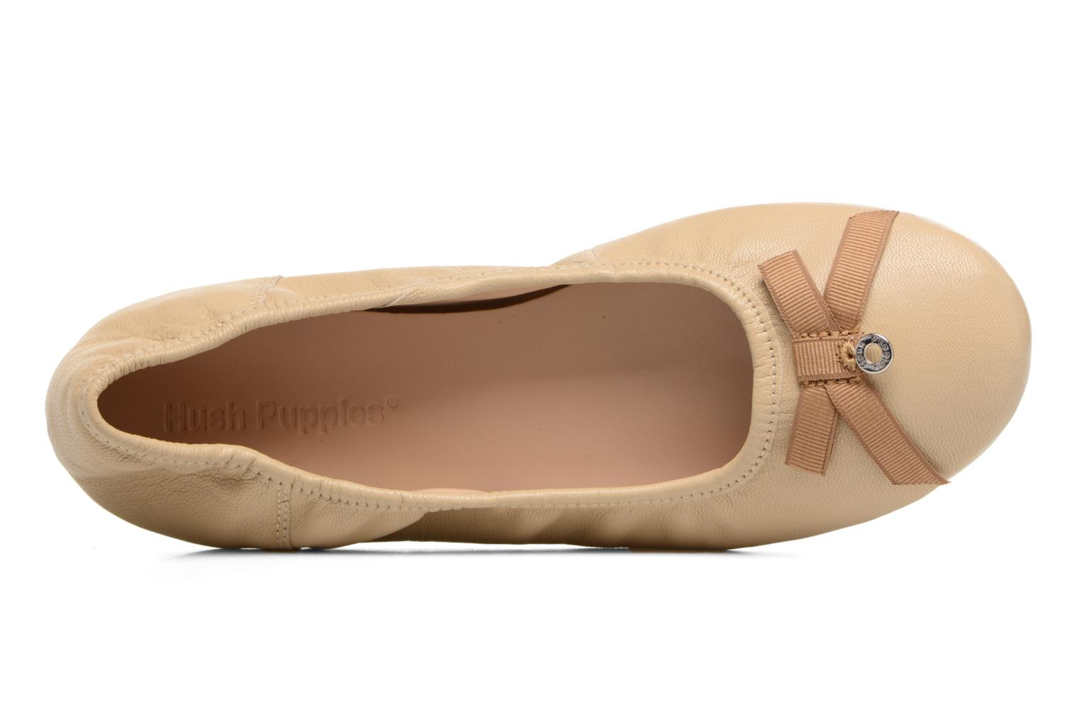 Ballerina's Hush Puppies Lilas Beige links