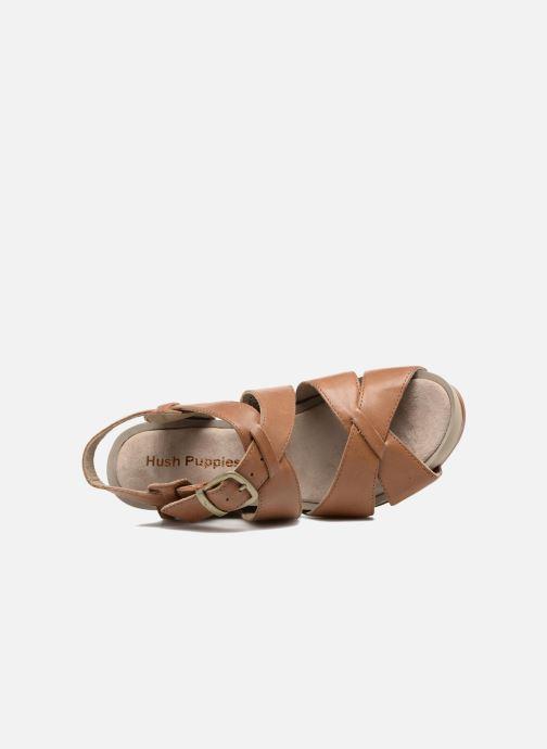 Sandales et nu-pieds Hush Puppies Fintan Marron vue gauche
