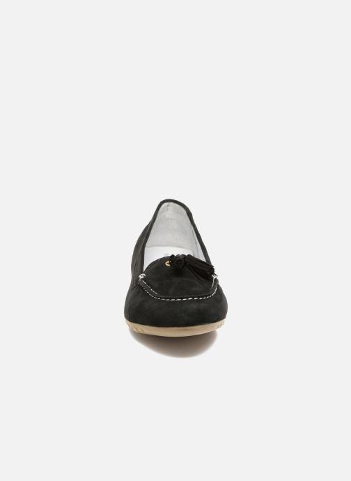 Mocassins Hush Puppies Moon Noir vue portées chaussures