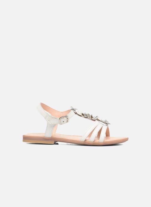 Sandales et nu-pieds Conguitos Eugenia Blanc vue derrière