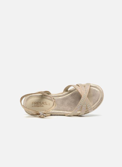 Sandalen Fresas by Conguitos Carolina gold/bronze ansicht von links