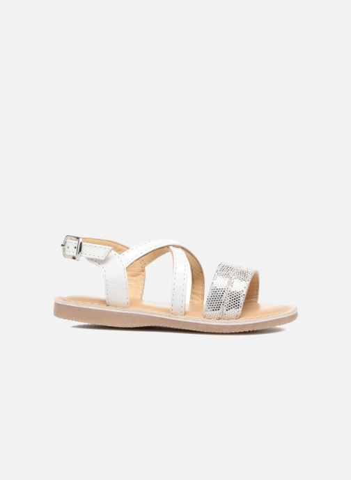 Sandales et nu-pieds Osito by Conguitos Alida Blanc vue derrière