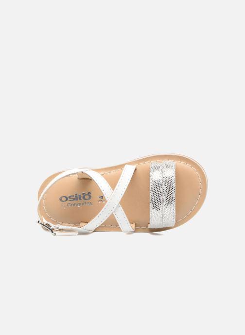 Sandales et nu-pieds Osito by Conguitos Alida Blanc vue gauche