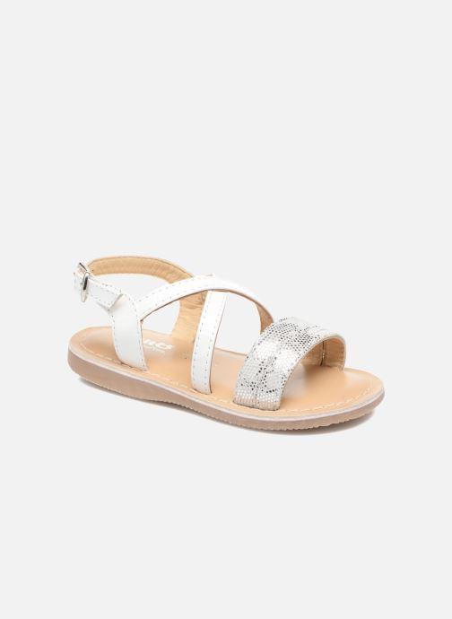 Sandales et nu-pieds Osito by Conguitos Alida Blanc vue détail/paire