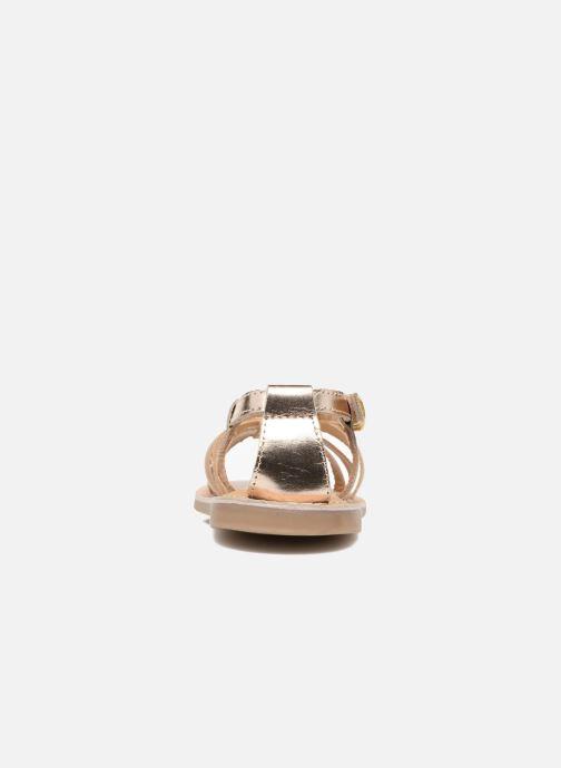 Sandales et nu-pieds Osito by Conguitos Ana Or et bronze vue droite