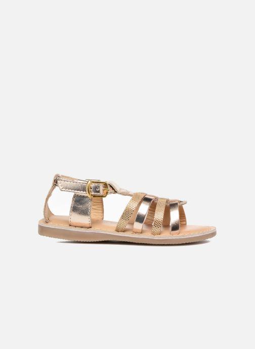 Sandalen Osito by Conguitos Ana gold/bronze ansicht von hinten