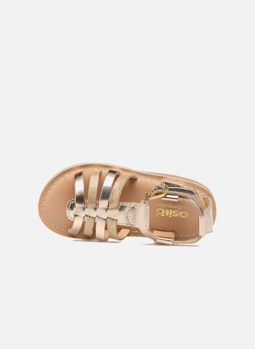 Sandales et nu-pieds Osito by Conguitos Ana Or et bronze vue gauche