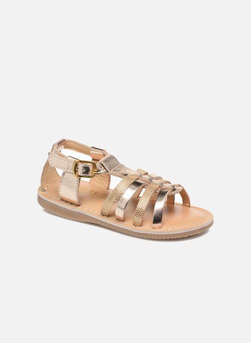Sandales et nu-pieds Osito by Conguitos Ana Or et bronze vue détail/paire
