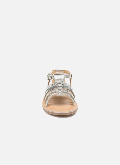Sandales et nu-pieds Osito by Conguitos Ana Argent vue portées chaussures