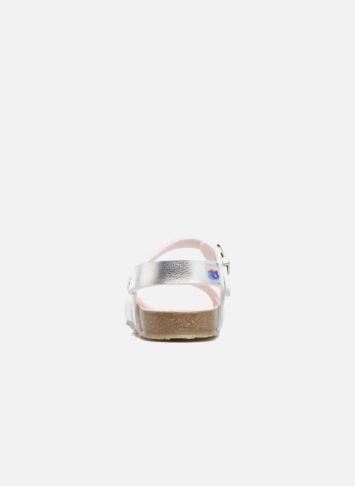 Sandali e scarpe aperte Osito by Conguitos Begona Argento immagine destra