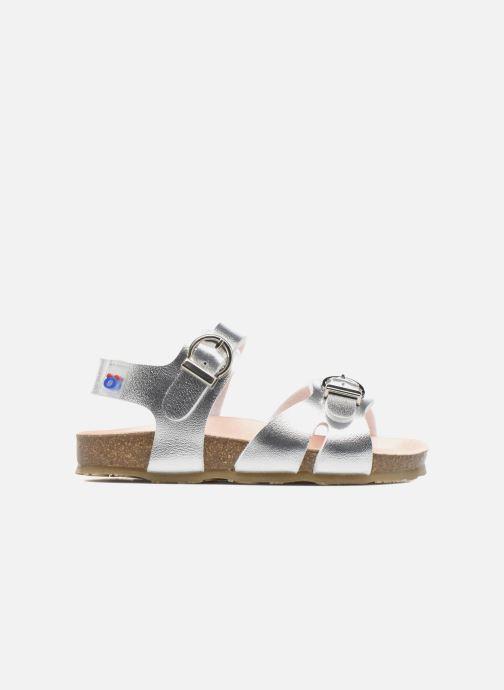 Sandales et nu-pieds Osito by Conguitos Begona Argent vue derrière