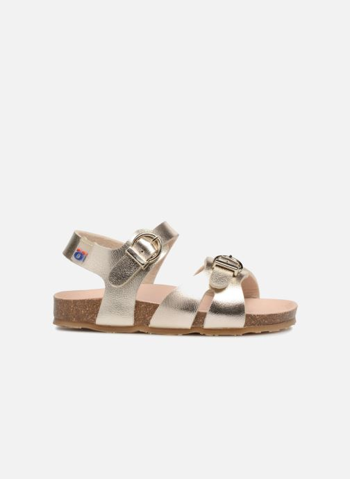 Sandals Osito by Conguitos Begona Bronze and Gold back view