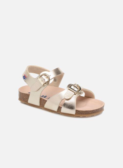 Sandales et nu-pieds Osito by Conguitos Begona Or et bronze vue détail/paire