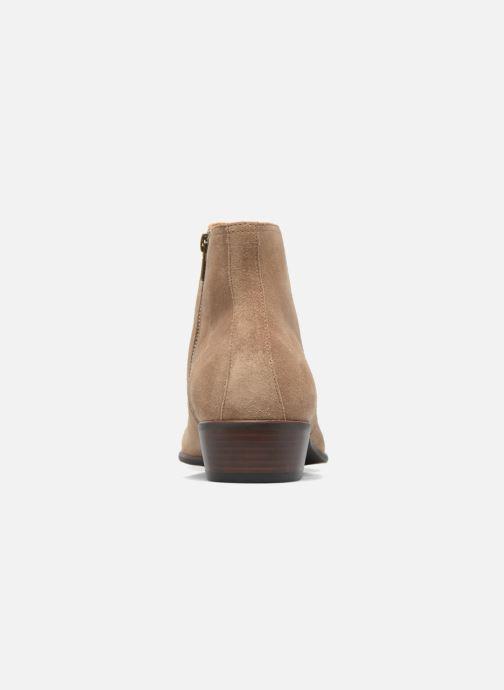 Bottines et boots Aldo SWIFT Beige vue droite