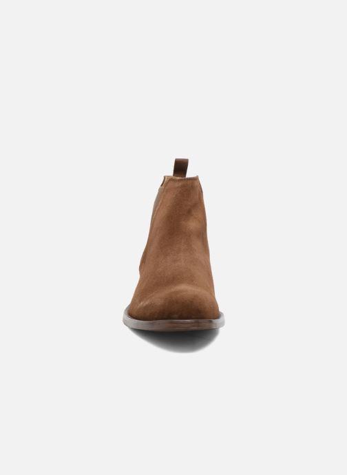 Bottines et boots Aldo VIANELLO-R Marron vue portées chaussures