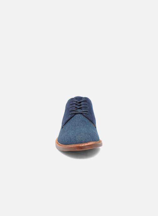 Schnürschuhe Aldo ULERADIEN blau schuhe getragen