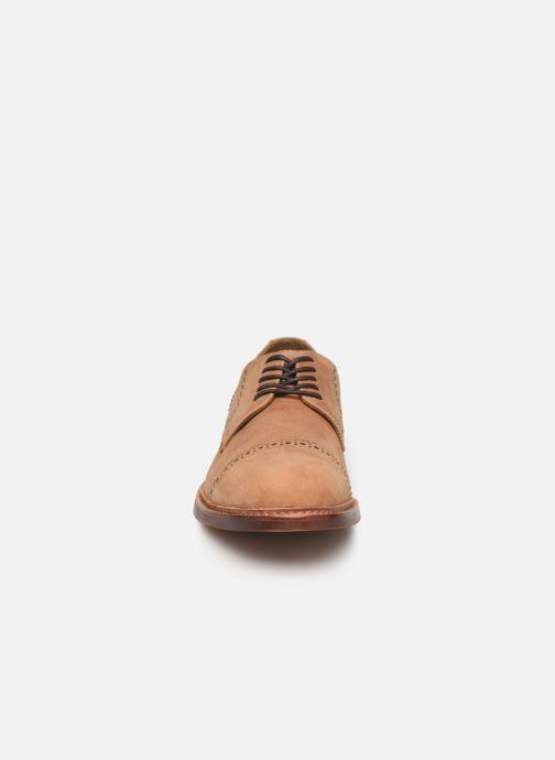 Chaussures à lacets Aldo DERRADE Marron vue portées chaussures