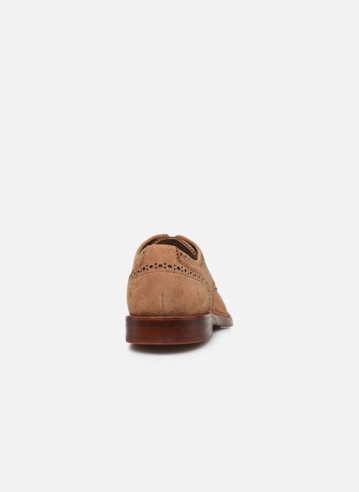 Chaussures à lacets Aldo DERRADE Marron vue droite