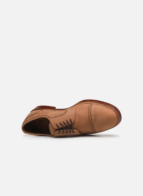 Chaussures à lacets Aldo DERRADE Marron vue gauche
