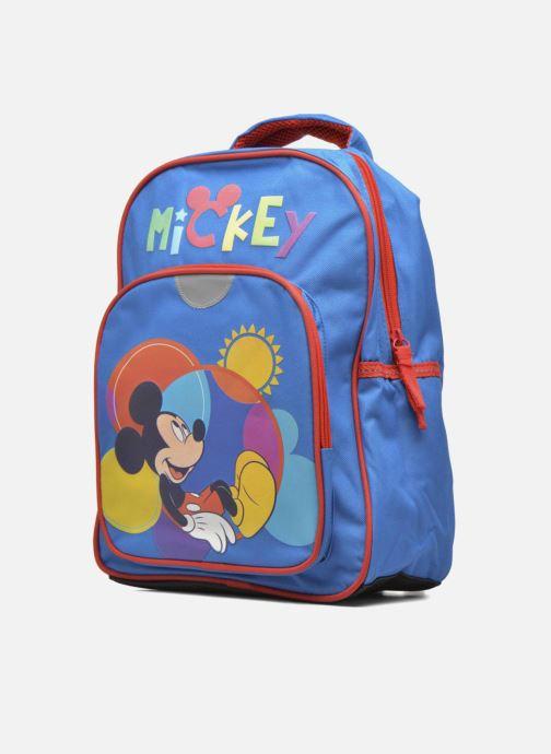 Sacs à dos Disney Sac à dos Mickey 26cm Bleu vue portées chaussures