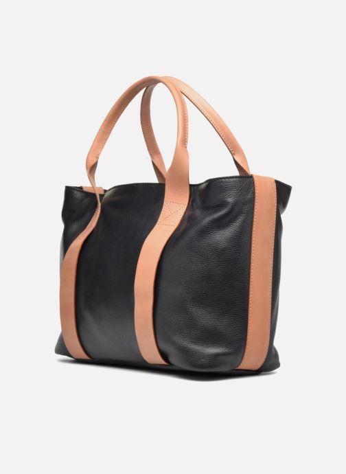 Handtaschen Clarks TASMIN BELLA Cabas cuir schwarz schuhe getragen