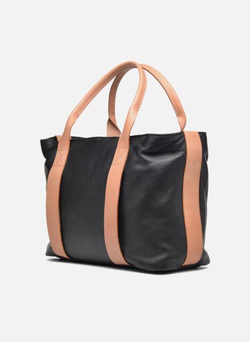 Handtaschen Clarks TASMIN BELLA Cabas cuir schwarz ansicht von rechts