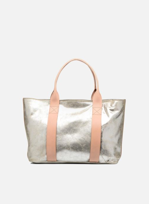 Handtaschen Clarks TASMIN BELLA Cabas cuir silber ansicht von vorne