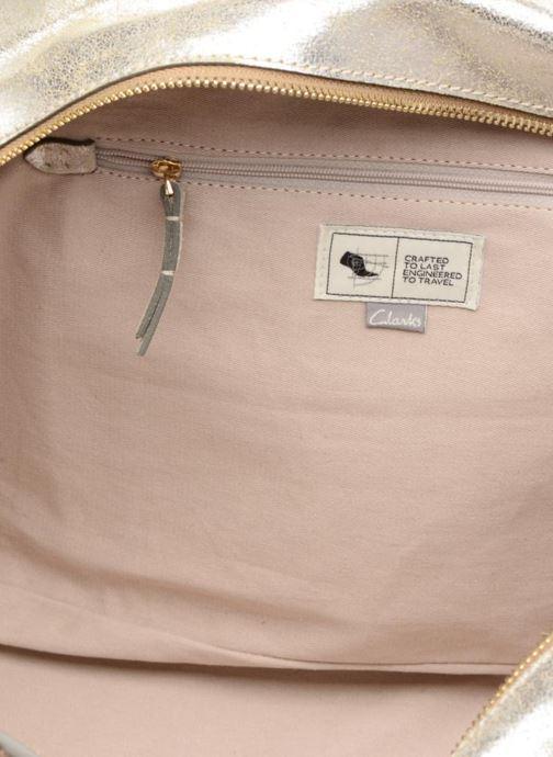 Handtassen Clarks TASMIN BELLA Cabas cuir Zilver achterkant
