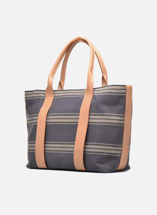 Handtaschen Clarks TASMIN BELLA Cabas textile blau schuhe getragen