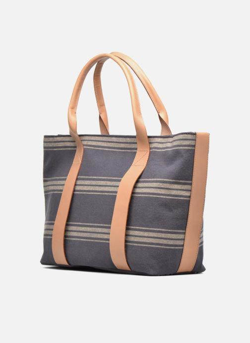 Handtaschen Clarks TASMIN BELLA Cabas textile blau ansicht von rechts