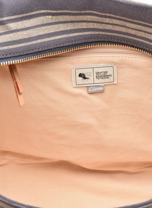 Handtassen Clarks TASMIN BELLA Cabas textile Blauw achterkant