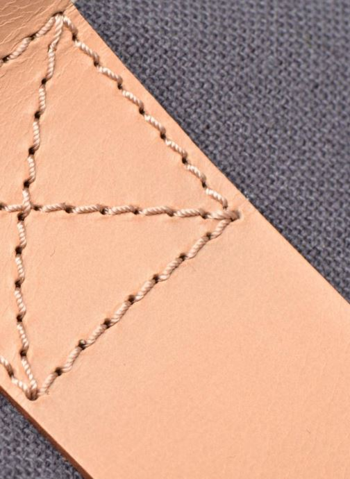 Bolsos de mano Clarks TASMIN BELLA Cabas textile Azul vista lateral izquierda