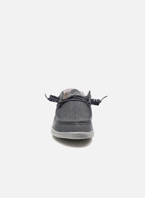 Chaussures à lacets DUDE Wally Classic Bleu vue portées chaussures