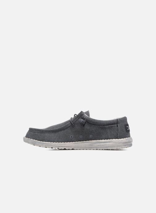 Chaussures à lacets DUDE Wally Classic Bleu vue face