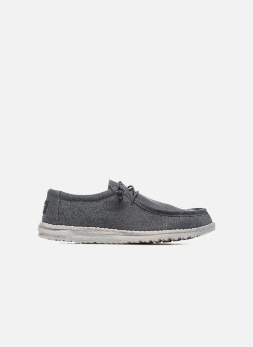 Chaussures à lacets DUDE Wally Classic Bleu vue derrière