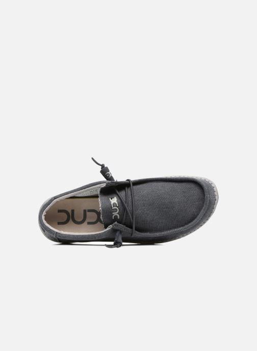 Chaussures à lacets DUDE Wally Classic Bleu vue gauche
