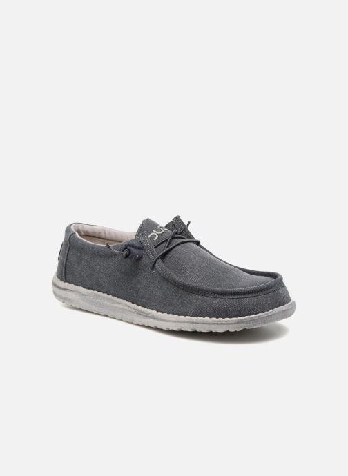 Chaussures à lacets DUDE Wally Classic Bleu vue détail/paire