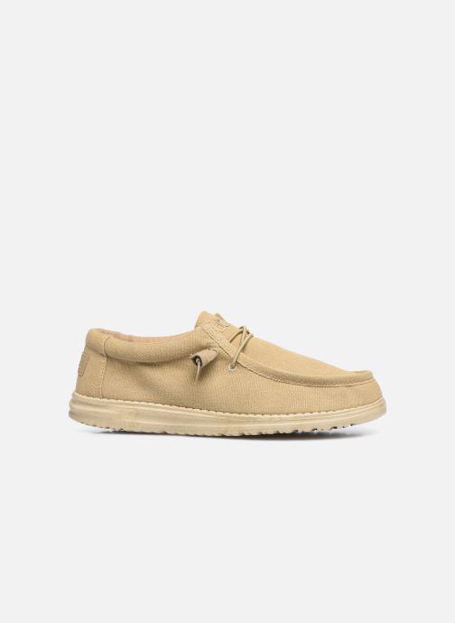 Chaussures à lacets DUDE Wally Classic Beige vue derrière