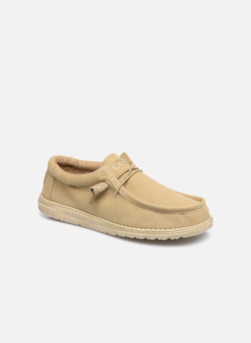 Chaussures à lacets DUDE Wally Classic Beige vue détail/paire