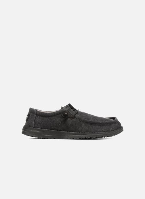 Chaussures à lacets DUDE Wally Classic Noir vue derrière