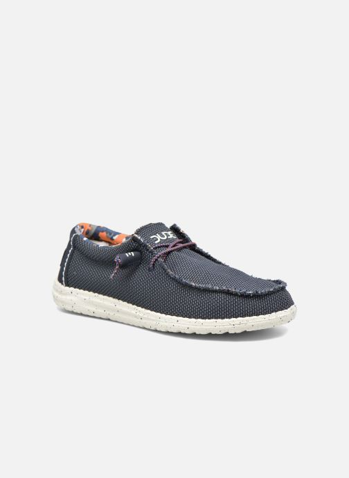 Mocassins DUDE Wally Sox Blauw detail