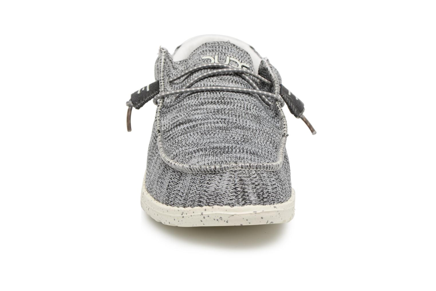 Loafers DUDE Wally Sox Grey model view