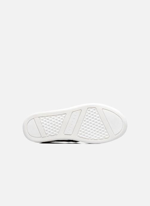Baskets Serafini Skate Or et bronze vue haut
