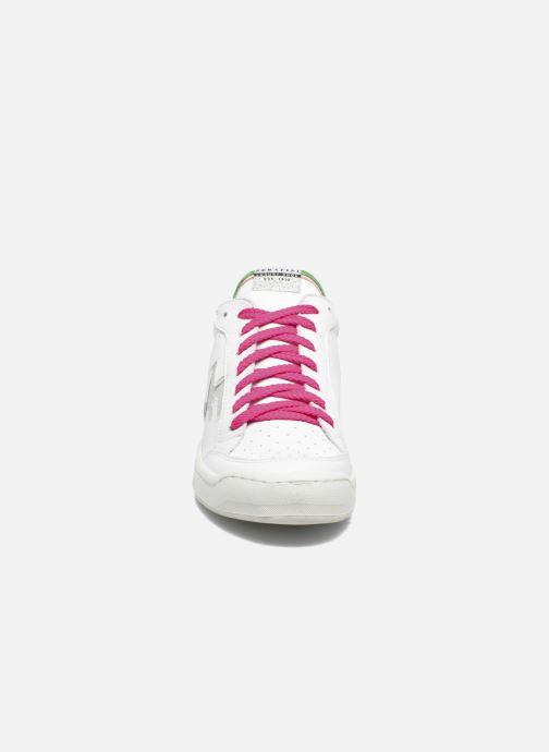 Baskets Serafini San Diego Low Blanc vue portées chaussures