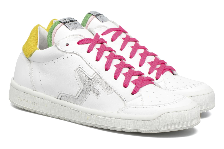 Sneakers Serafini San Diego Low Bianco immagine 3/4
