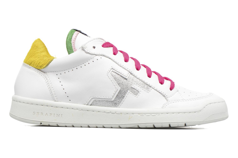 Sneakers Serafini San Diego Low Bianco immagine posteriore