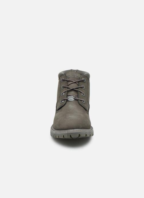 Boots en enkellaarsjes Timberland Nellie Chukka Double Grijs model