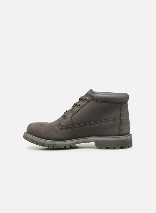 Boots en enkellaarsjes Timberland Nellie Chukka Double Grijs voorkant