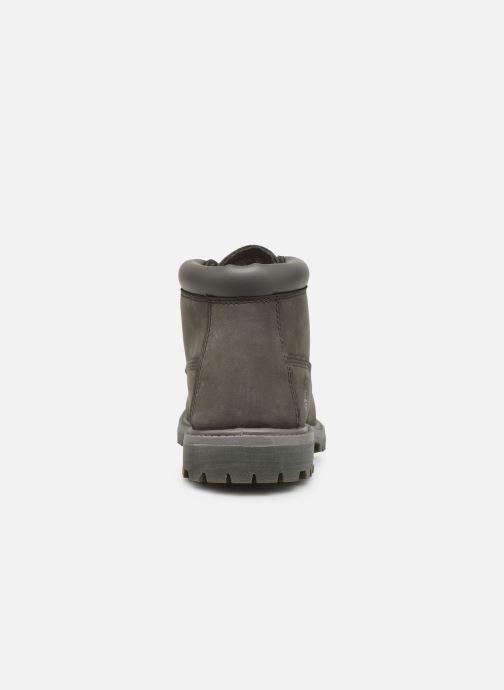 Boots en enkellaarsjes Timberland Nellie Chukka Double Grijs rechts